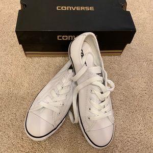 White converse brand new